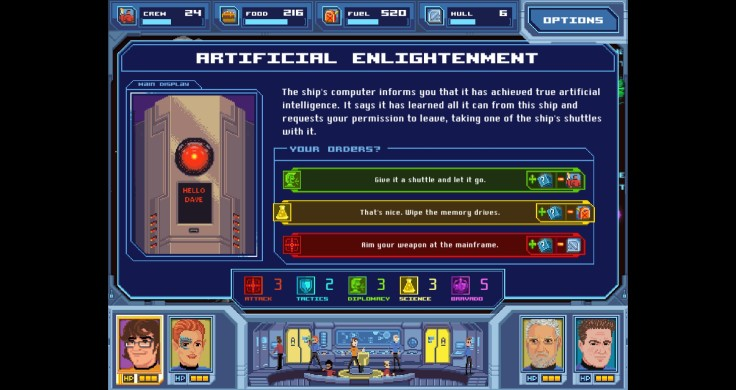 Orion Trail Screen shot AI