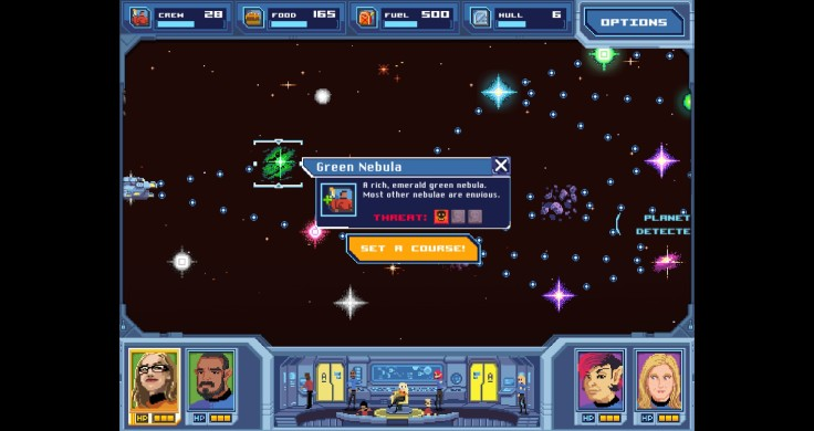 Orion Trail Screen shot map