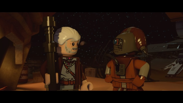 LEGO® STAR WARS™: The Force Awakens Lor San Tekka