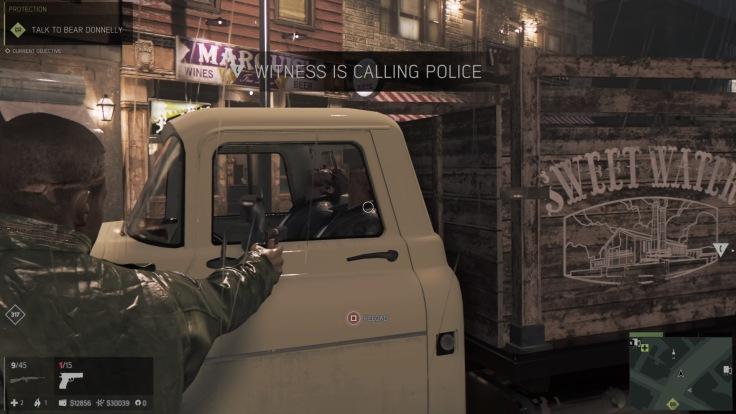 Mafia III Hijacking Screen Shot