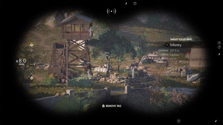Sniper Elite 4 Binoculars