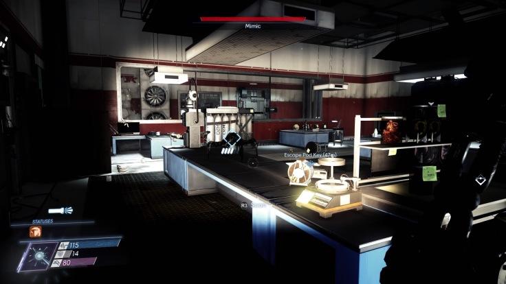 Prey Talos Lab