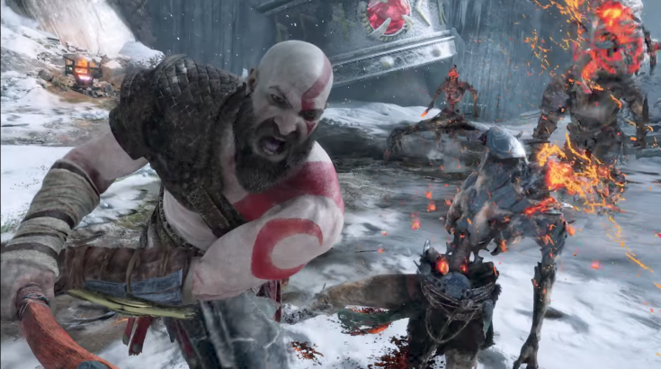 God Of War Combat