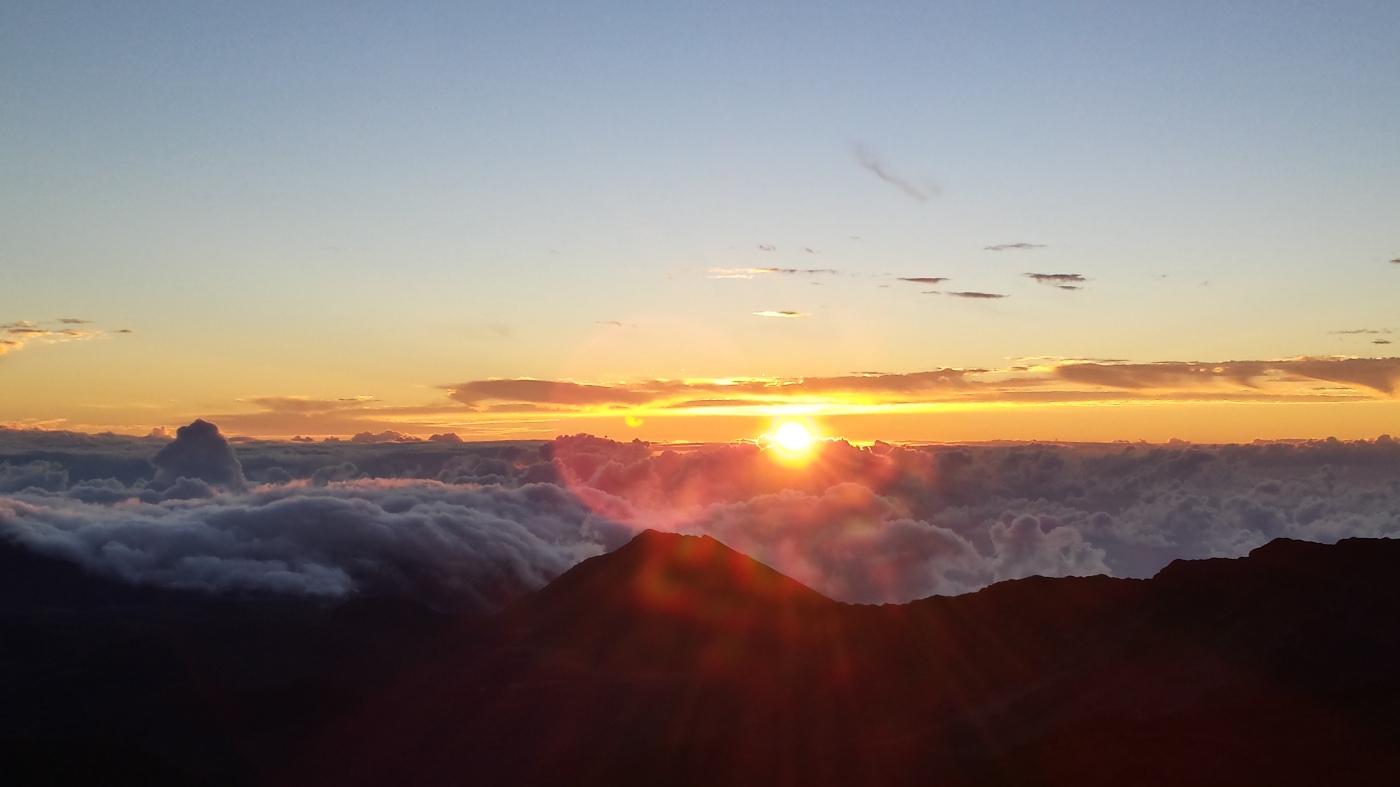 Sun Rise over Haleakala, 2014
