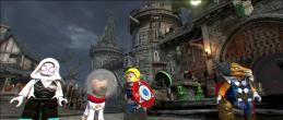 Lego Marvel 2 Spider-Gwen, Cosmo, Captain Avalon, & Beta Ray Bill