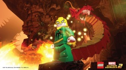 Lego Marvel 2 Iron Fist.Lego Marvel 2 Iron Fist