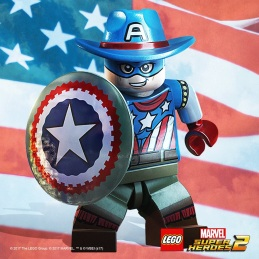 Lego Marvel 2 Old West Captain America