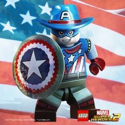 Lego Marvel 2 Old West Captain America