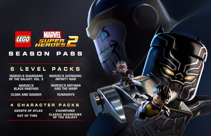 Lego marvel 2 season pass