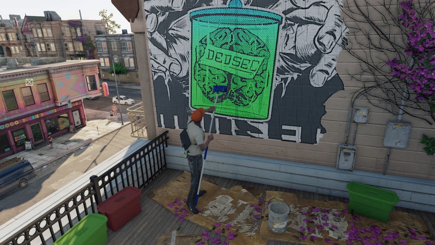 Watch Dogs 2 Graffiti