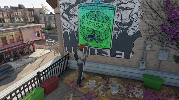 Watch Dogs 2 Graffiti