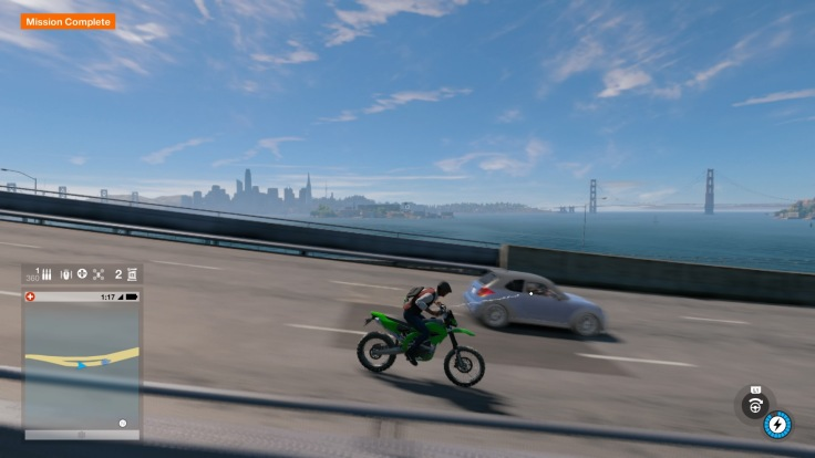 Watch Dogs 2 Motorcycle
