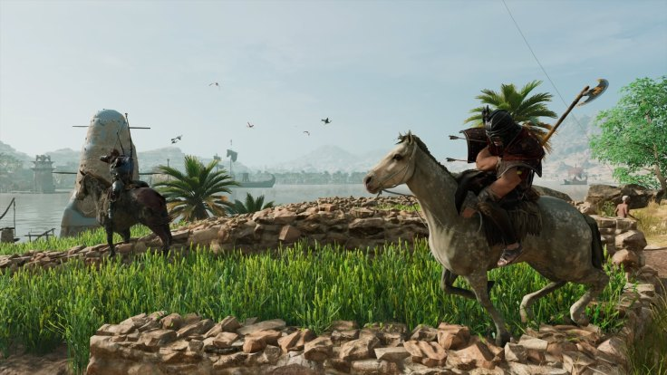 Assassin's Creed® Origins Horse Combat
