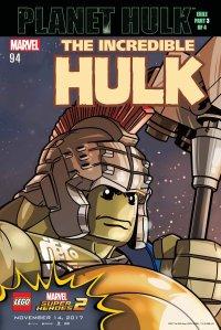 Lego Marvel 2 Iconic Comic Incredible HULK