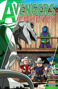 Lego Marvel 2 Iconic Cover Avengers Forever 4