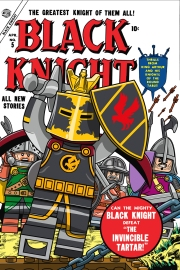 Lego Marvel 2 Iconic Cover Black Knight 5