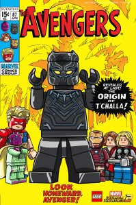 Lego Marvel 2 Iconic Cover Black Panther