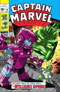 Lego Marvel 2 Iconic Cover Captain Marvel 16
