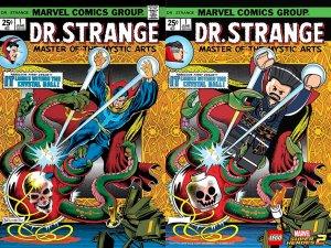 Lego Marvel 2 Iconic Cover Dr Strange