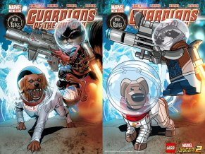 Lego Marvel 2 Iconic Cover Guardians of the Galaxy