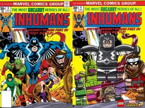 Lego Marvel 2 Iconic Cover Inhumans