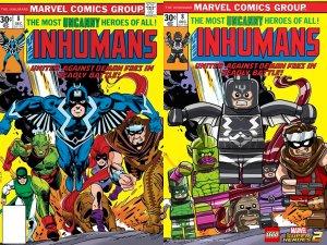 Lego Marvel 2 Iconic Cover Inhumans