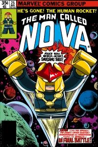 Lego Marvel 2 Iconic Cover Nova 25