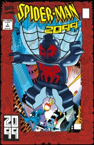Lego Marvel 2 Iconic Cover Spider-man 2099 1