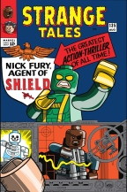 Lego Marvel 2 Iconic Cover Strange Tales 135