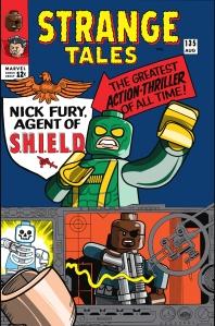 Lego Marvel 2 Iconic Cover Strange Tales 135