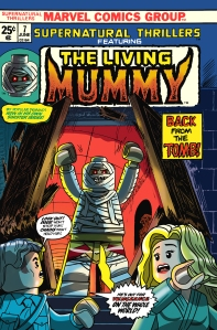 Lego Marvel 2 Iconic Cover Supernatural Thrillers 7