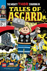 Lego Marvel 2 Iconic Cover Tales of Asgard