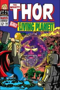 Lego Marvel 2 Iconic Cover Thor 133