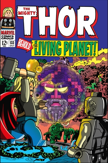 Lego Marvel 2 Iconic Cover Thor 133