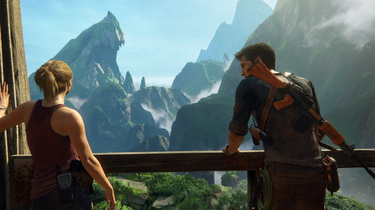 Uncharted 4: A Thief's End™ Drake and Elena