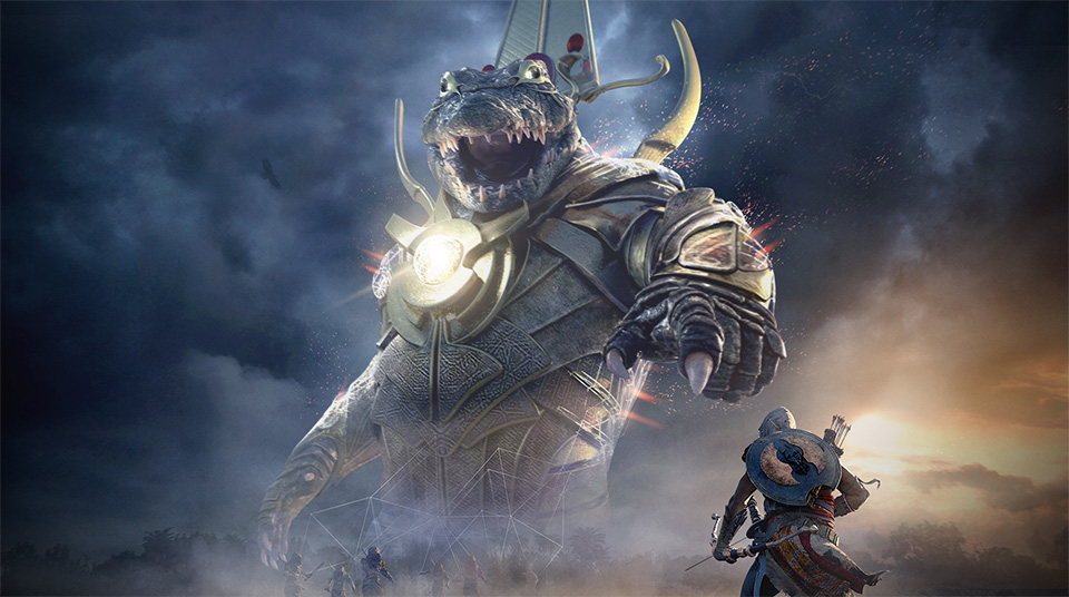 Assassins Creed Origins Trial of the Gods Sobek