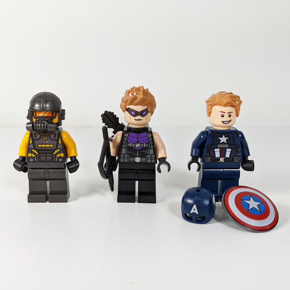 LEGO Marvel Avengers-Truck-Take-down Minifigures
