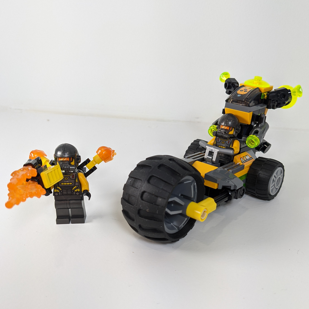 LEGO Marvel Avengers-Truck-Take-down AIM Agents