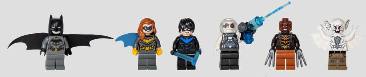 LEGO Minifigures from Mobile Bat Base